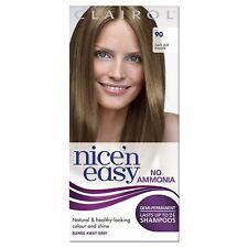 Clairol Nice'n Easy Semi-Permanent Hair Dye No Ammonia 90 Dark Ash Blonde