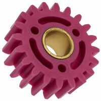 Atco Suffolk Qualcast Lawnmower Pink Plastic Gear Replacement Part 30s 35s QX