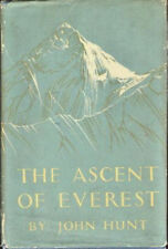The Ascent of Everest John Hunt First Edition 1st 1953 Mountain Climbing NICE!