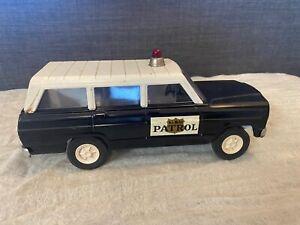 Vintage Rare Tonka Jeep Sheriff Highway Patrol