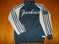 STITCHES MLB NEW YORK YANKEES FULL ZIP ATHLETIC JACKET MENS MEDIUM EXCELLENT