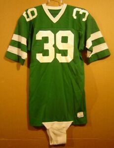 NEW YORK JETS #39 GREEN VINTAGE NFL JERSEY