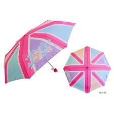 KS Brands UU0140 18 Inch Ladies Fashion Union Jack Style Pastel Design Umbrella