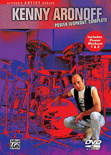 KENNY ARONOFF - POWER WORKOUT NEW DVD - DRUM DRUMS