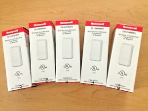 5 LOT 5816WMWH ADEMCO HONEYWELL WIRELESS DOOR CONTACT & MAGNET NEW L5100 L5200