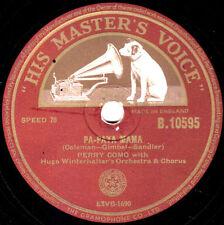SUPERB 1953 PERRY COMO 78 PA-PAYA MAMA UK HMV B10595 E+