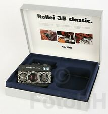 """ROLLEI 35 """"BLACK MAGIC"""" BLACK AND WHITE SQUARES IN SILVER SERIALNUMBER PROTOTYP"""