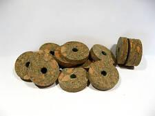 "Cork Rings 36 Green Burl,  1 1/4"" X 1/4"" X 1/4"" Hole"