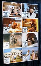"NINO MANFREDI ""THE DOLLS"" MONICA VITTI VIRNA LISI N MINT LOBBY CARD SET 1965"