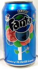 FULL New 12 oz 355ml Can Coca-Cola's Fanta Berry Limited Edition USA 2016