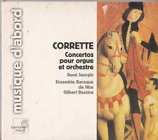 MICHEL CORRETTE- Organ Concertos Op.26 - RENE SAORGIN Bezzina CD 2003