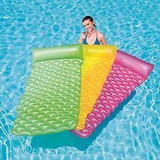 "Bestway Inflatable 84""x34"" Float�n Roll Swimming Pool Air Bed Lounger Float Mat"