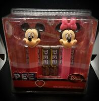 Pez Disney Mickey And Minnie Dispensers-BRAND NEW