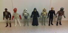 Vintage Star Wars Figures Bundle Job Lot x 7 ESB ROTJ