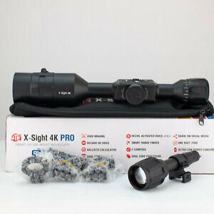 ATN X-Sight-4k, 5-20x Pro edition Day/Night Hunting Riflescope, DGWXSX5204KP