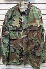 NWT USGI Issue Woodland Camouflage Combat Coat ML 50/50