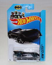 2014 Hot Wheels HW City #61 The Batman - Batmobile Black New