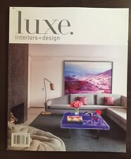 Luxe Interiors Design Art Of Couture Luxury Volume 13 #4 2015 FREE SHIPPING!