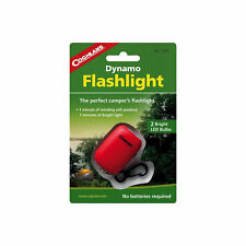 Coghlan's Dynamo Flashlight LED Wind-Up Torch Hand Crank Emergency Light w/Clip