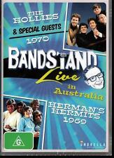 BANDSTAND LIVE THE HOLLIES 1970 & HERMAN'S HERMITS 1969 NEW DVD -FREE LOCAL POST