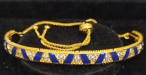 "Pandora SHINE Bracelet 568051CZ 10.2"" Exotic Stones & Stripes ALE"