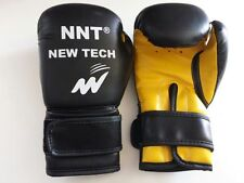 NNT REX LEATHER BOXING GLOVE WITH GEL PADDING IN 6oz