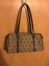 Tan Brown Dooney and Bourke Small Purse