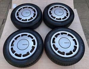 Pirelli P Slot Alloy Wheels + New 185 60 14 Pirelli  Mk1 Mk2 Golf 171601025AA