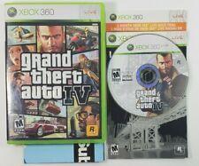 Grand Theft Auto IV GTA 4 (Microsoft Xbox 360, 2008) CIB Xbox Live 1 Month Trial