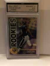 ROOKIE CARD 2000 FINEST#140 TRAVIS TAYLOR CARD 1237/2400 GRADE 10