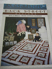 1988 It's a Small Cross Stitch Country Designs Pattern Book House Heart Sampler