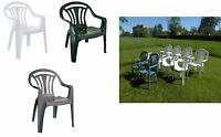 Garden Chair Low Back High Quality Plastic Chairs Outdoor Patio Garden Chairs