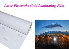 Intbuying Laser Fireworks Cold Laminating Film 06931 Yard 25 Inch