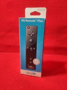Controller Telecomando nintendo Motion remote Plus Nero Wii / U NUOVO originale