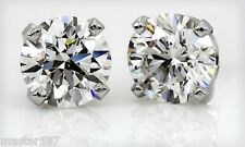 .75Ct G/VS1 $1800.00 Natural Diamond Stud Earrings 14k. SALE!!! ( LQQK! ) New!