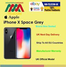 SIGILLATO Nuovo di zecca fabbrica sbloccato IPHONE x iPhone 10 64 GB Space Grey UK SPEC