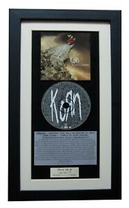 KORN Follow The Leader CLASSIC CD Album TOP QUALITY FRAMED+EXPRESS GLOBAL SHIP