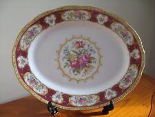 "Royal Albert Bone China 'Lady Hamilton' Large Oval Platter (16.25""/41cms)"