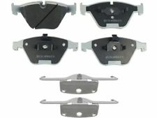 For 2004-2005 BMW 645Ci Disc Brake Pad and Hardware Kit Front 55547QM