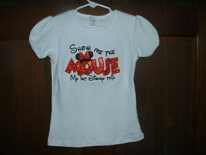 Show Me the Mouse Applique 1st Disney Trip Shirt--Made to order- Size 3 & up
