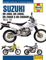 Suzuki DR-Z400/Z400E/Z400S/Z400SM 2000-2010 Repair Manual
