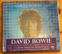 David Bowie The Album 40th Anniversary French EMI 2 Disc double CD SEALED
