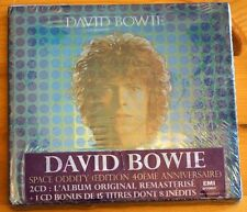 Rare David Bowie The Album 40th Anniversary French EMI 2 Disc double CD SEALED
