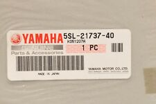 "NEW NOS OEM YAMAHA R6 2004 ""R6"" GRAPHIC DPBMC 5SL-21737-40 SIDE TAIL LEFT/RIGHT"