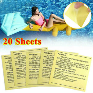 20Pcs/set PVC Adhesive Sticker Repair Patch For Swimming Inflatable Pool Patches
