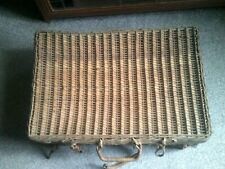 Picnic Basket - Wicker- With Contents