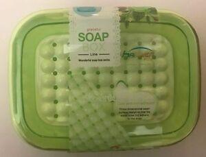 Three Dimensional-Pearl-Surface-Soap-Box-holder-Bathroom-Set-Green-Blue-Purple