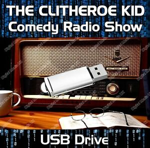 THE CLITHEROE KID - OLD TIME RADIO SHOW COMEDY USB - 138 EPISODES MP3