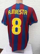 FC Barcelona Trikot 2009/10 Nike Jersey Shirt INIESTA unicef Camiseta M S Home