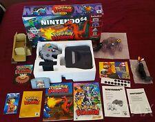 Nintendo 64 Console Pokemon Stadium Battle Set in Box nice condition MUST SEE!!!